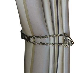 2 pièces L de style pince rideaux/crochet rideau/embrasse rideau, 24 ...