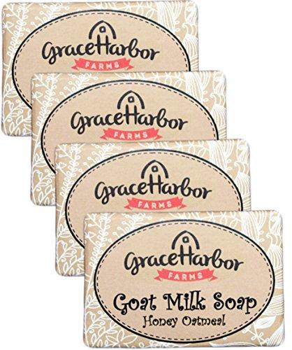 Goat Milk Soap (4-Four Ounce Bars) Honey - Harbor International