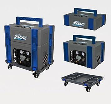 Caja Modular Porta Herramientas con compresor 3 Lt In-Line Fiac Air Box 1: Amazon.es: Deportes y aire libre