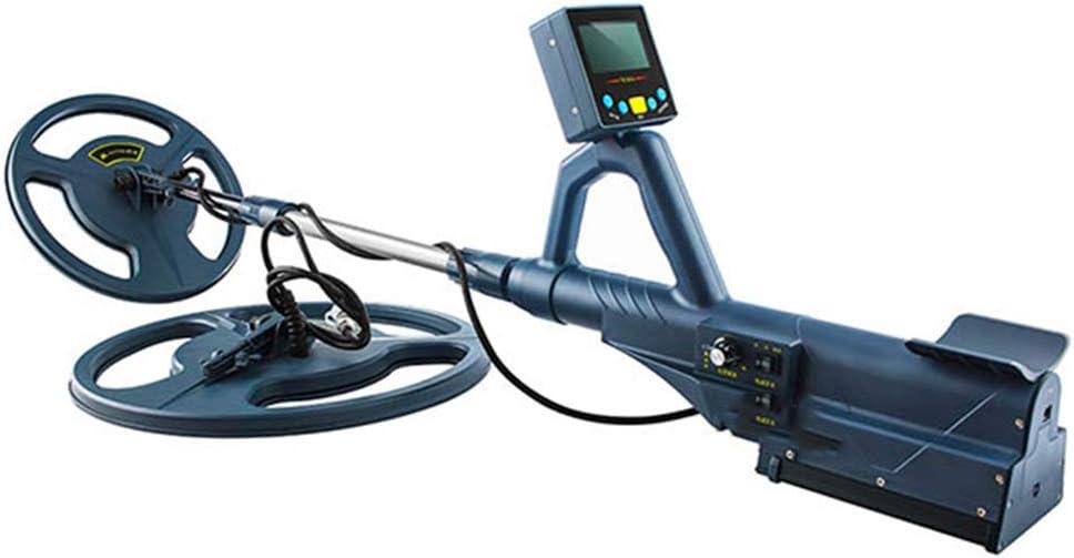 ANZQHUWAI Detector de Metales Profesional de Alta sensibilidad TM99S Impermeable Profundidad de 3,5 m de la búsqueda Detectores Cazador de Tesoros de Oro: Amazon.es: Hogar
