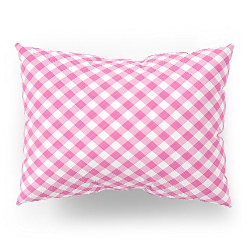 Gingham Standard Sham - Society6 Pink Roses In Anzures 1 Gingham 1 Pillow Sham Standard (20
