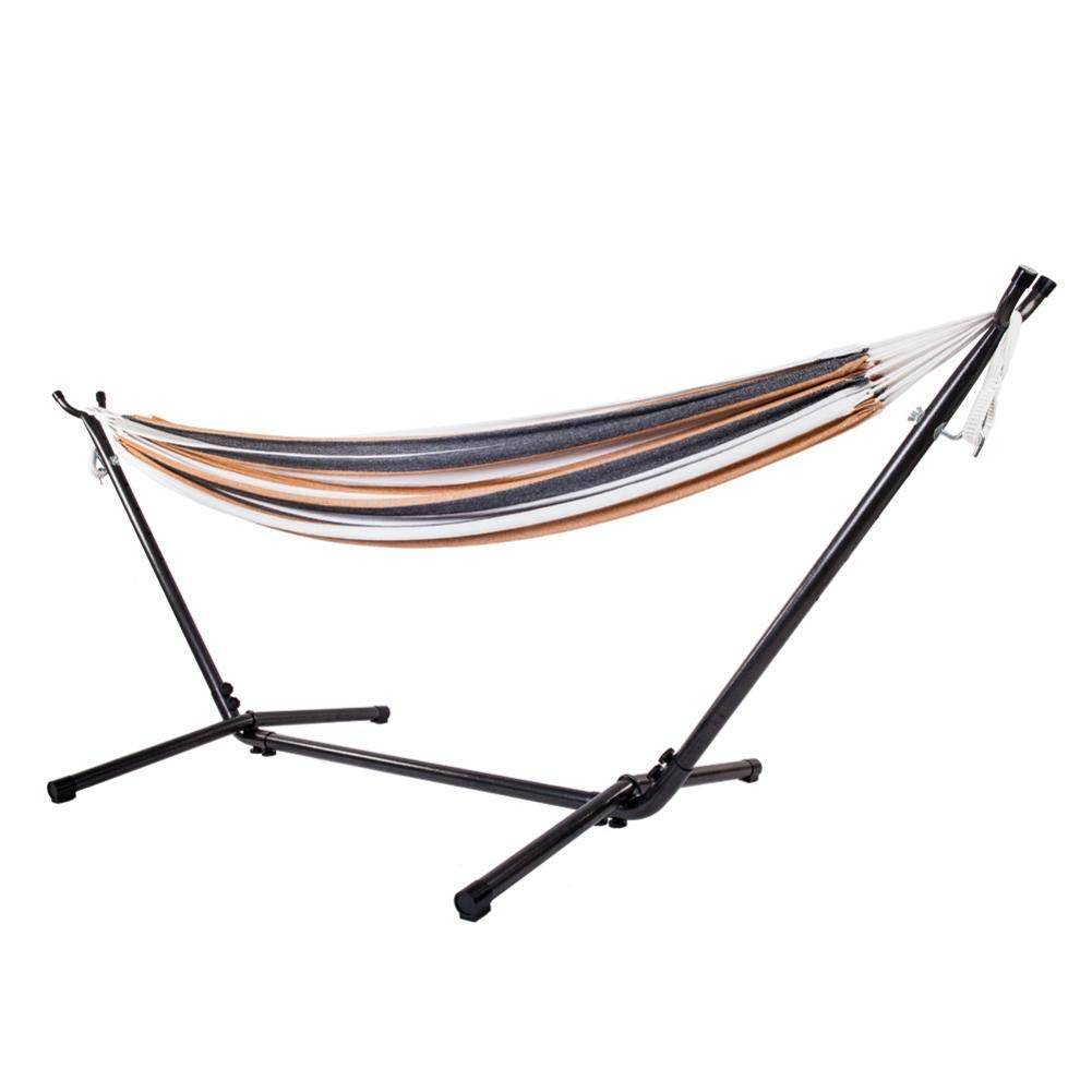 Ksruee Portable Hammock Stand Outdoor Patio Heavy Duty Coated Steel Tube Frame with Hooks by Ksruee (Image #2)