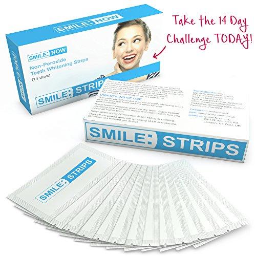 Teeth Whitening Strips - Zero Peroxide - Fluoride Free - Whiten Teeth -...