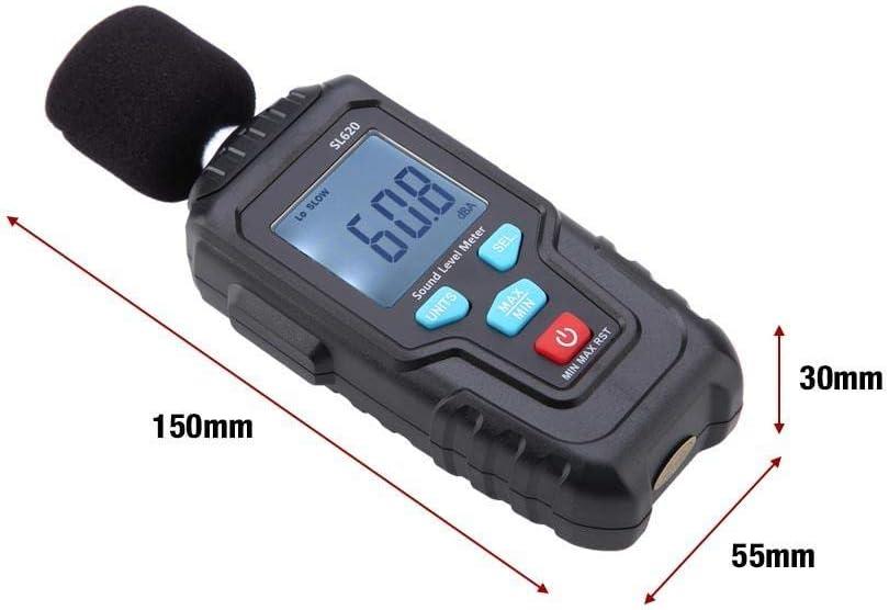 MESTEK Noise Measurement Meter Logger Sound Level Meter LCD homes for factories offices schools Sound Level Digital Noise Tester