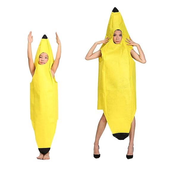 Saihua Disfraces de Halloween, ropa de plátano, disfraz de ...