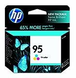 HP 95 Tri-color Original Ink Cartridge (C8766WN) for HP Deskjet 460 2575 C4150 C4180 6830 6840 9800 HP Officejet 100 150 6940 6988 H470 7210 7310 7410 J6480 HP Photosmart 335 375 385 422 425 428 475 2575 C4150 C4180 8049 8050 8150 8350 8450 8750 HP PSC 15