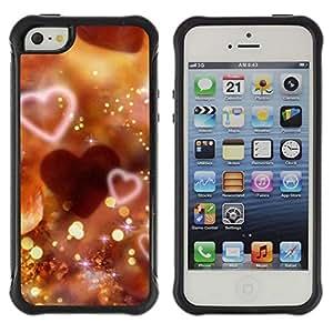 Suave TPU GEL Carcasa Funda Silicona Blando Estuche Caso de protección (para) Apple Iphone 5 / 5S / CECELL Phone case / / Love Bokeh /