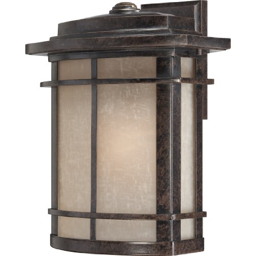 Quoizel GLN8412IB One Light Outdoor Wall Tabletop Lanterns, Large, Imperial Bronze ()