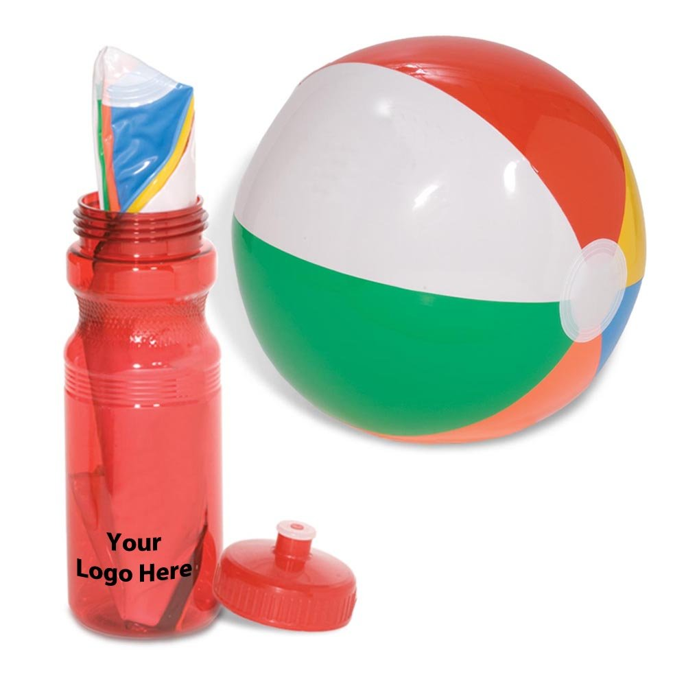Ball In A Bottle Combo - 75 Quantity - $3.75 Each - PROMOTIONAL PRODUCT / BULK / Branded with YOUR LOGO / CUSTOMIZED