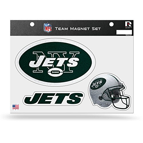 NFL New York Jets Bling Team Magnet Set
