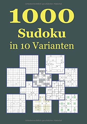 1000 Sudoku in 10 Varianten