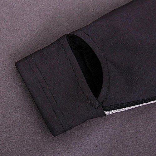 HJMTRY Pantalon à manches longues Sports et loisirs 2 pièces élastiques à séchage rapide pour la maison