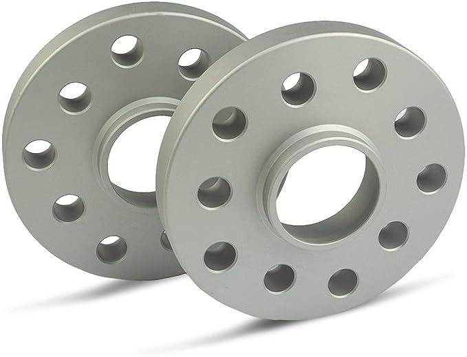 Scc Spurverbreiterung 12176e Silber Eloxiert Lk 100 4 Nlb 56 6 20mm 2 Stück Auto