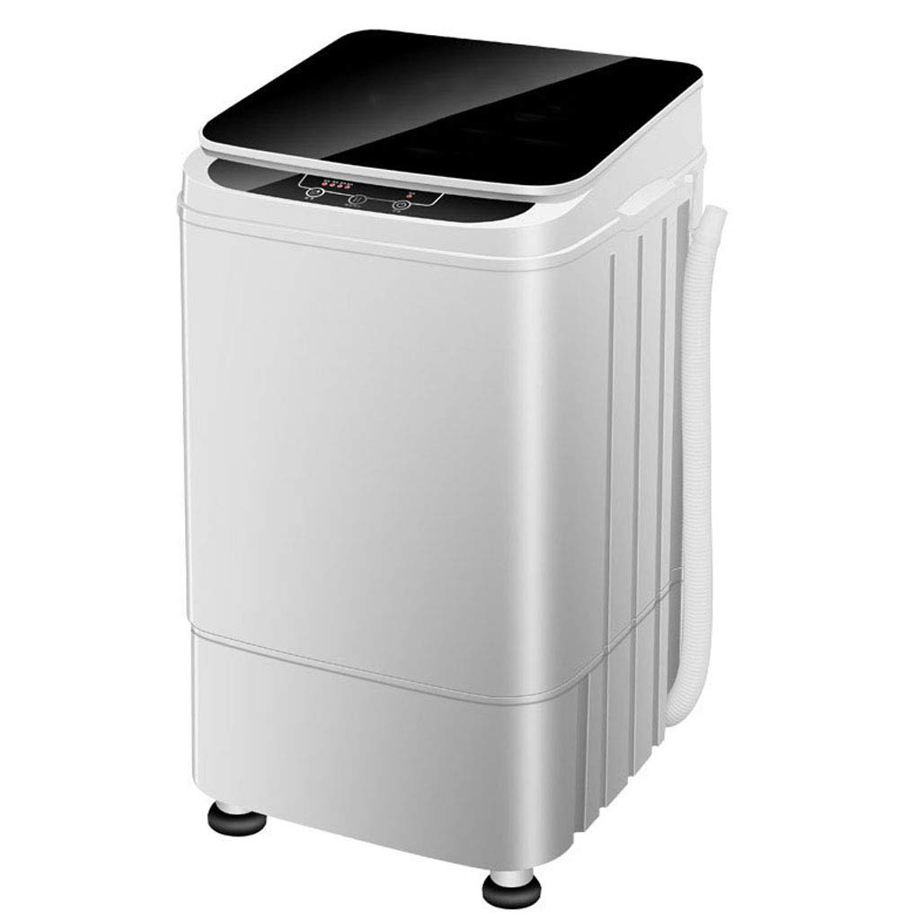 Portable Washing Machine - Adjustable Water Level, Fully Automatic Compact Washer Spin Dryer, for Apartment, Hotel, Dorm (White) 410385655 MM
