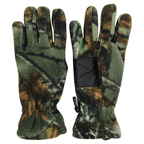 Men's Fleece Camouflage Winter Gloves ()