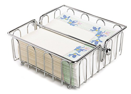 Stylish Chrome Wire Napkin Holder Ideal For Any Kitchen