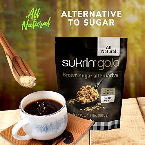Sukrin Gold - The Natural Brown Sugar Alternative - 1.1 lb Bag by Sukrin (Image #4)