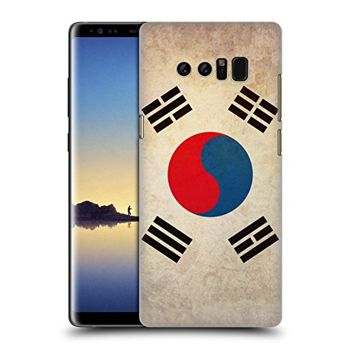 Price comparison product image Head Case Designs South Korea South Korean Vintage Flags Hard Back Case for Samsung Galaxy Note8 / Note 8