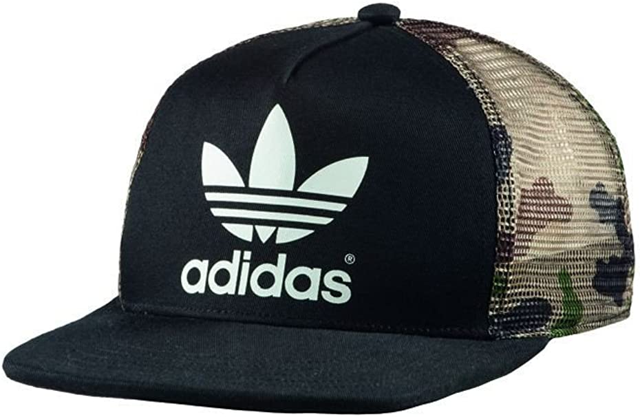 adidas Trucker FB ST - Gorra Unisex, Color Negro/marrón/Verde ...