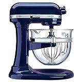 kitchen aid 600 pro mixer pasta - KitchenAid KF26M1QUB Pro 600 Deluxe Stand Mixer, Blueberry, 6 Qt