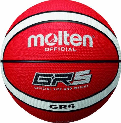 molten BGR5-RW Basketball - Size 5 - Red / White