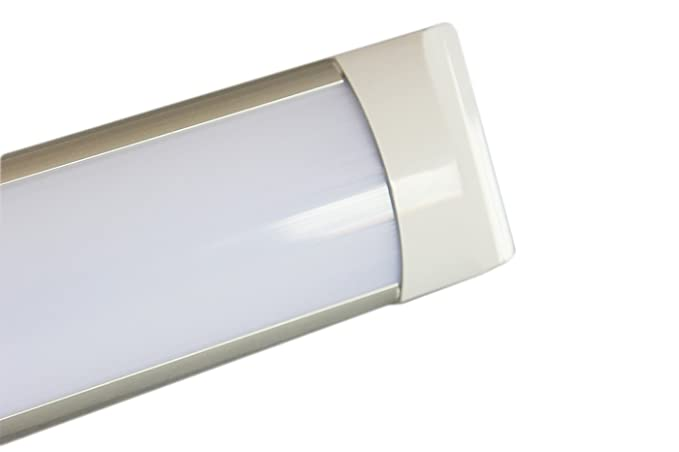 Plafoniere Led Officina : Plafoniera led w watt cm slim smd macelleria v lampada