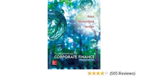 amazon com fundamentals of corporate finance the mcgraw hill irwin