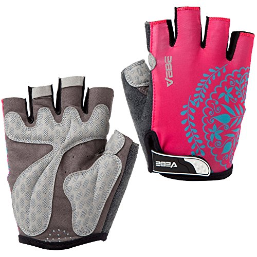 VEBE Womens/Girls/Boys Sports Professional Non-Slip Road Biking Riding Gloves Cycling Accessories