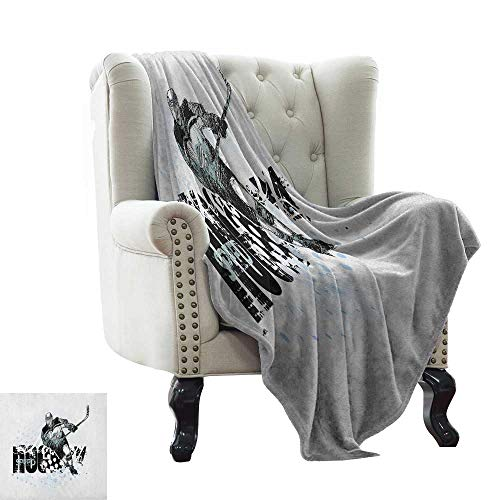 Border Swirl Dot (Anyangeight Blankets Scarf Grey,Ornament Border with Artistic Swirls Dots in Rococo Style Renaissance Details, Pale Grey White 60