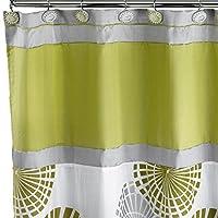 Popular Bath Bonnie Shower Curtain, Lime