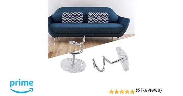 DIY – Chincheta espiral de tapicería, Cortinas de Cama sofá silla coche sofá Headliner reparación Loose Drapery Craft 30/50pcs