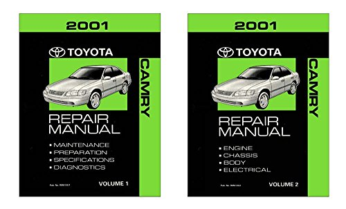 2001 toyota camry shop service repair manual book engine. Black Bedroom Furniture Sets. Home Design Ideas