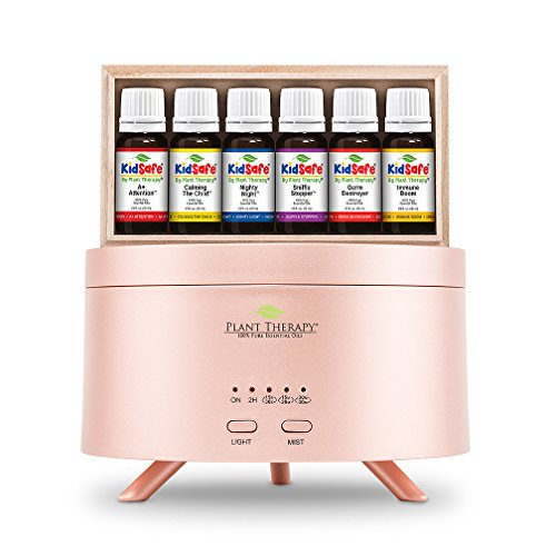 Plant Therapy KidSafe Starter Set with Rose Gold AromaFuse