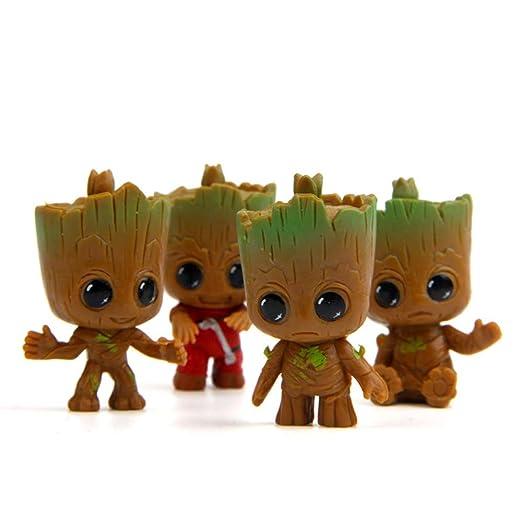 BEYOND MS Q versión Groot árbol hombre acción Figuras Modelo ...