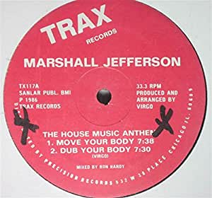 House music anthem marshall jefferson m sica for Anthem house music