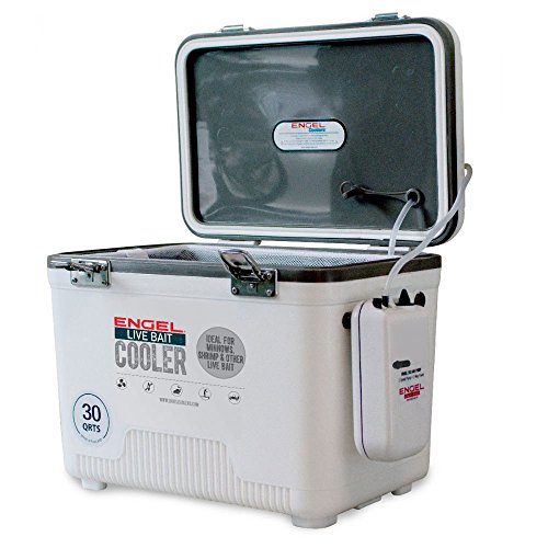 Engel Hard-Sided Coolers Englbc30-N 30 Qt Live Bait