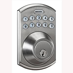Lockstate Remotelock 5i Wifi Electronic Deadbolt Door Lock