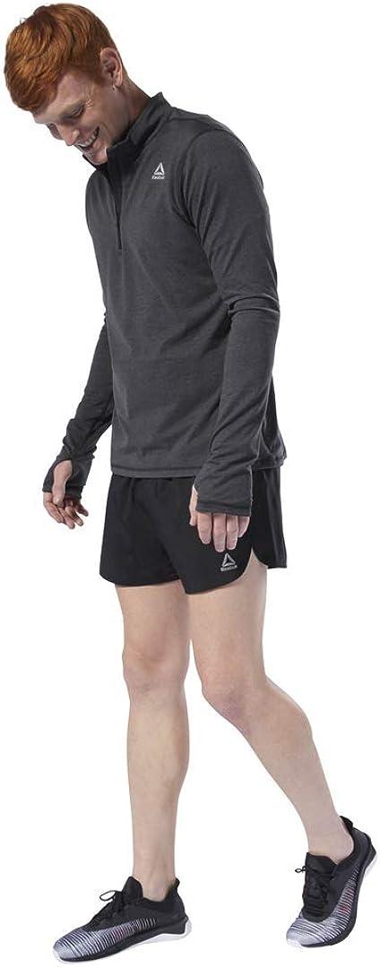 Reebok Men's Running Essentials Long Sleeve 1/4 Zip Shirt