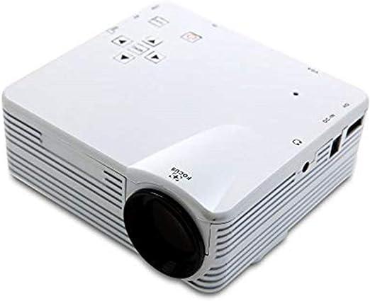 Mini proyectores Lente de enfoque de reproducción HD 1080P con ...