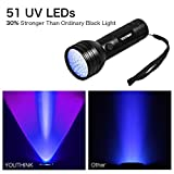 Pet Urine Detector Light Handheld UV Black Light