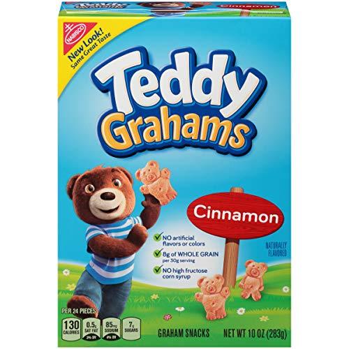 - Teddy Grahams Cinnamon Graham Snacks, 10 Ounce