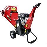 Broyeur de végétaux à moteur essence 6.5 cv - Capacité 100 mm
