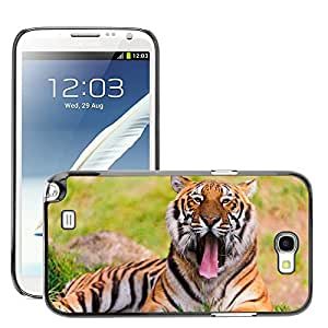 Hard Carcasa Skin Premium Shell Case Cover Funda//m00047550Photography Animals Animal Wild Grass//Samsung Galaxy Note 2N7100