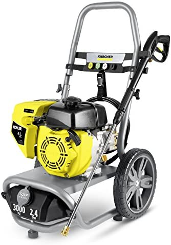 Karcher 11073860 G3000 XK Gas Pressure Washer, Gray Yellow