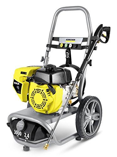 Karcher 11073860 G3000 XK Gas Pressure Washer, Gray Yellow