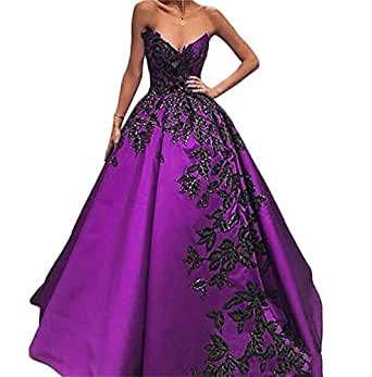 HeleneBridal women's Long Embroidery V Neck Prom Dresses Quinceanera Dresses Beading Evening Dresses Wt123