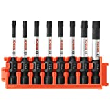 Bosch CCSTV208 8Piece Impact Tough Torx 2 in. Power Bits with Clip for Custom Case System