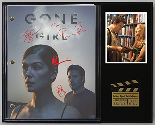 "GONE GIRL LTD EDITION REPRODUCTION MOVIE SCRIPT CINEMA DISPLAY ""C3"""