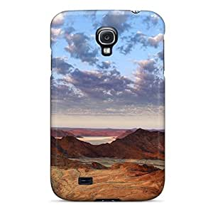 Awesome Love Kiss Defender Tpu Hard Case Cover For Galaxy S4- Desert View Namibia Africa