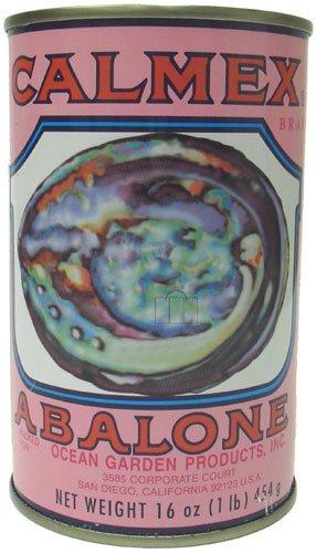CALMEX Abalone - 3 Whole Abalones & a Cut Piece 16 oz